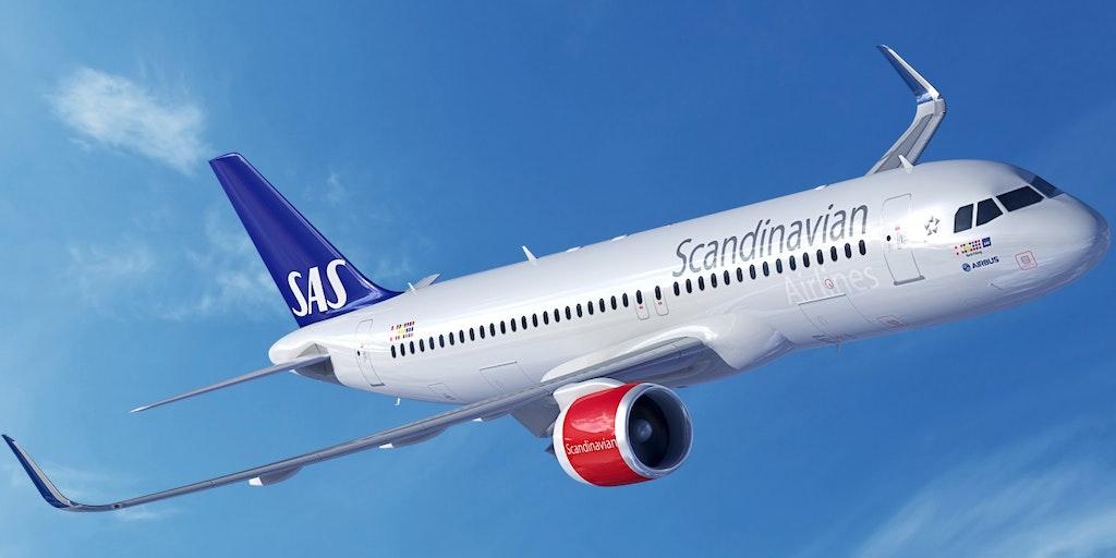 Rejs med flyselskabet SAS Scandinavian Airlines på ferie til Italien