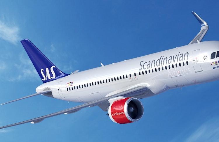Resor med flygbolaget SAS till Italien