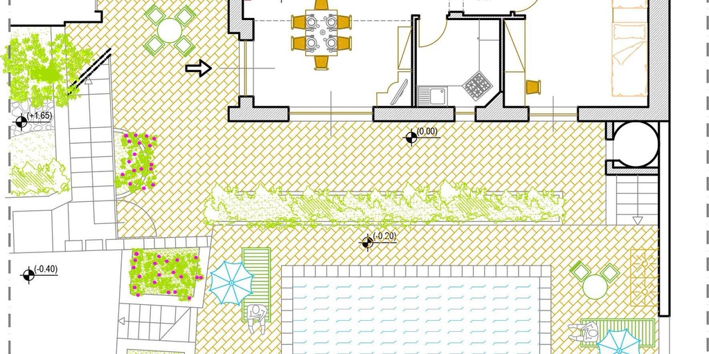 Plantegning: stueetage
