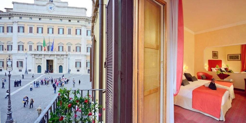 Bo på ett billigt hotell i centrala Rom med In-Italia