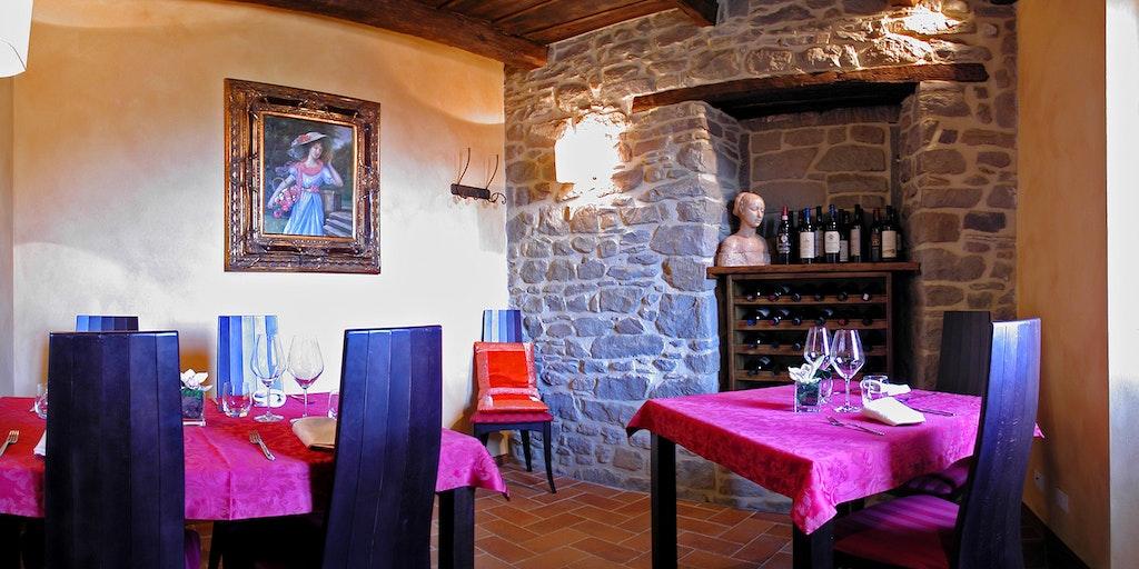 Ein Stadtteil - das Restaurant Convivio di Corsi