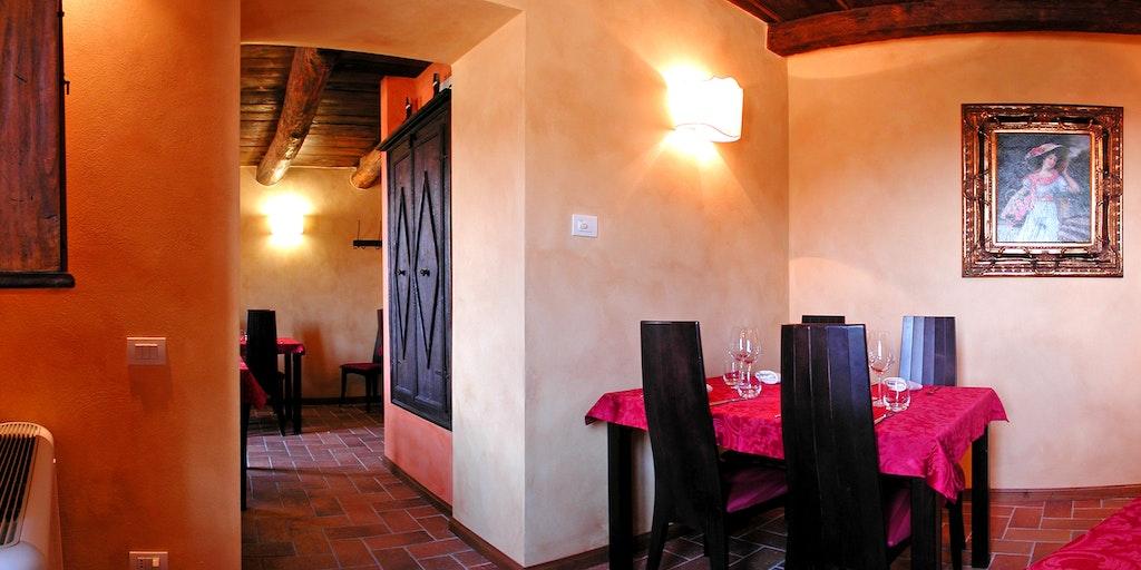 Das Restaurant Convivio dei Corsi