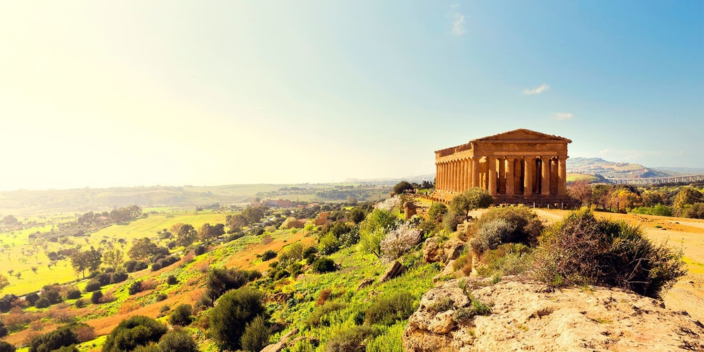 Concordiatemplet visar Siciliens grekiska historia