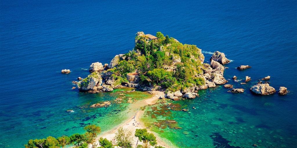 Isola Bella ved Taormina