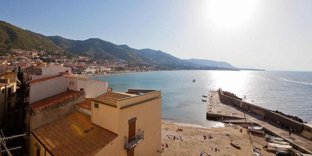 Aussicht von der Wohnung Terrazza Tramonto