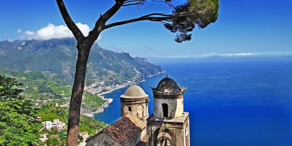 Vakker utsikt fra Ravello