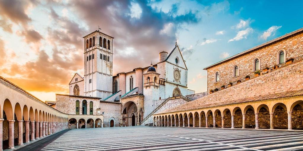 St. Francis-basilikaen i Assisi