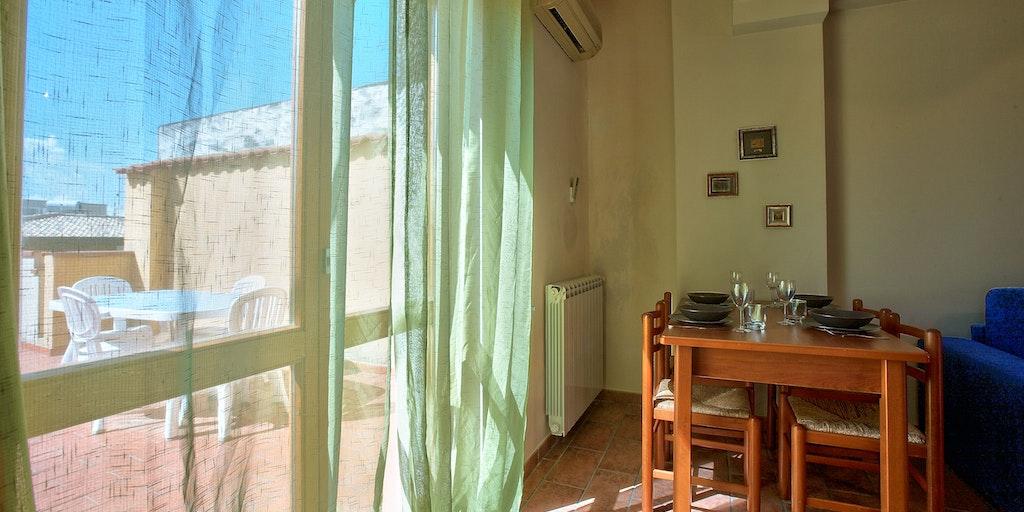 Wohnung Conchiglia im 3. Stock mit Terrasse