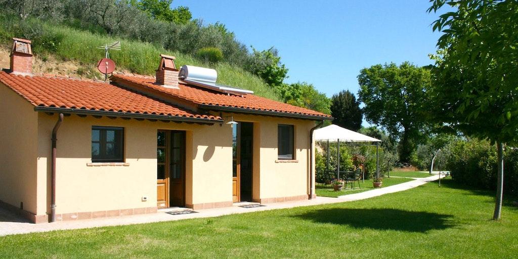 Casa cervognano villa i montepulciano i toscana for Piani casa villa toscana