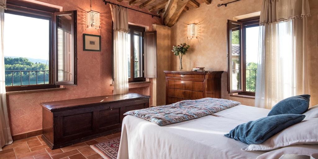 Dreizimmerwohnung auf zwei Etagen - Schlafzimmer