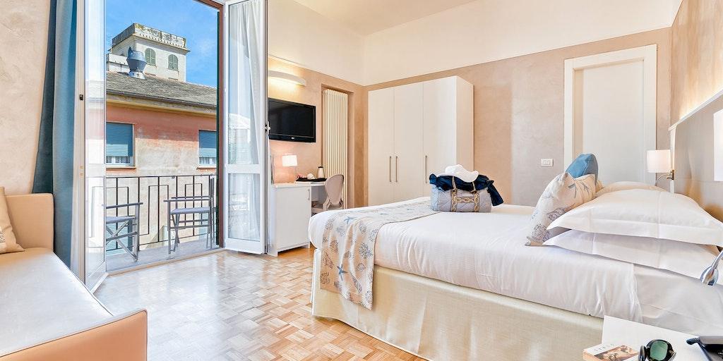 <p>Deluxe-Zimmer mit Balkon</p>