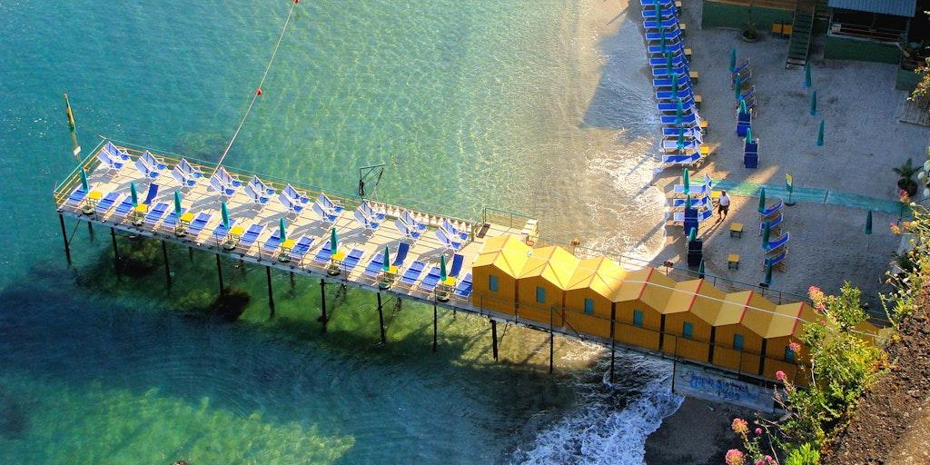 Strandbad in Sorrento