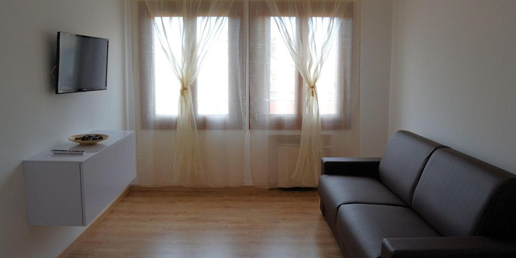 Exempel på bäddsoffa i Comfort Suite
