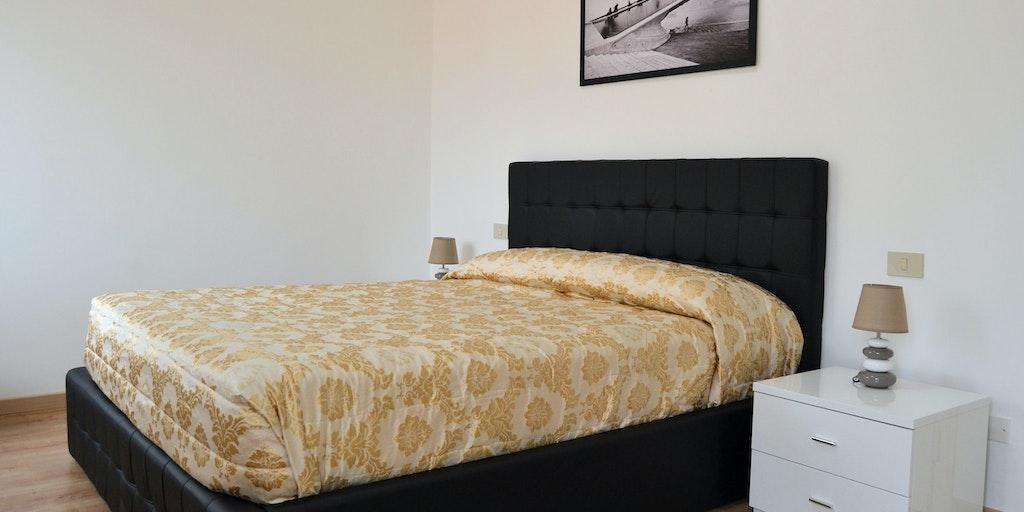 Exempel på sovrum i Comfort Suite