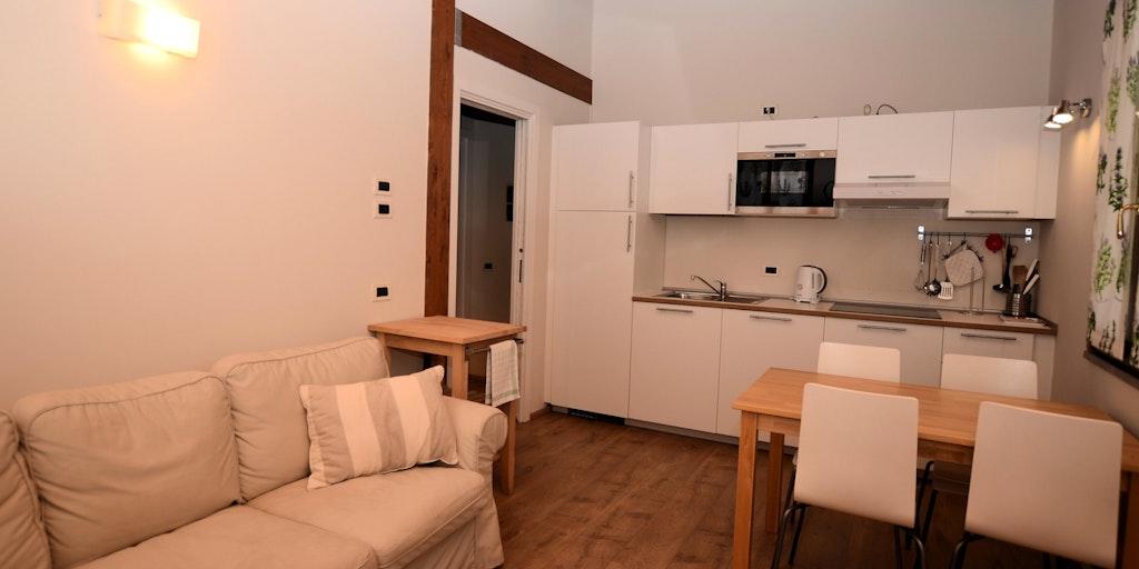 Beispiel für eine der Wohnungen