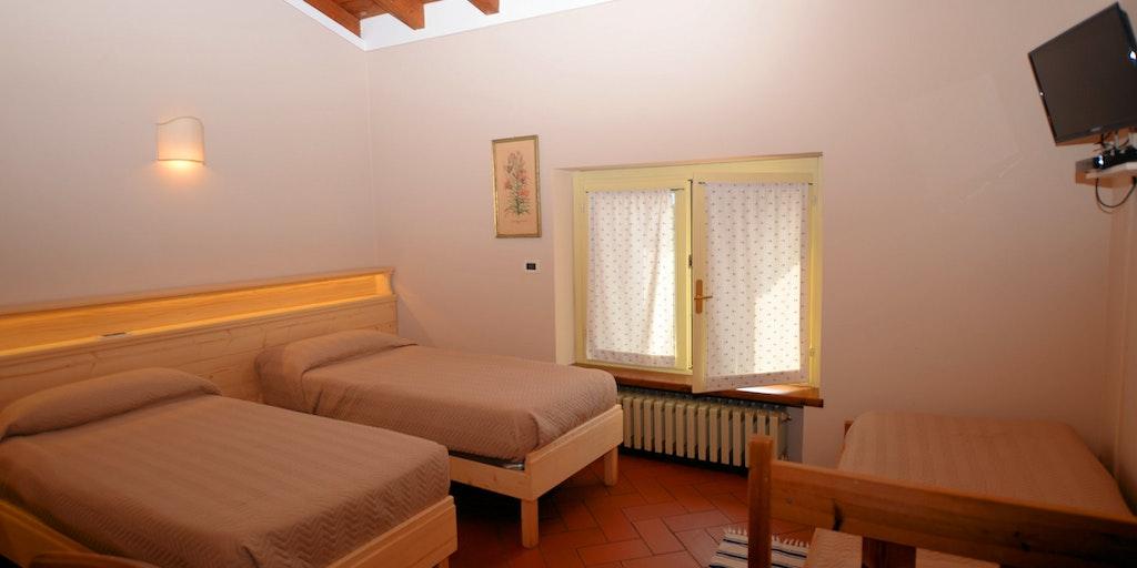 Et af værelserne