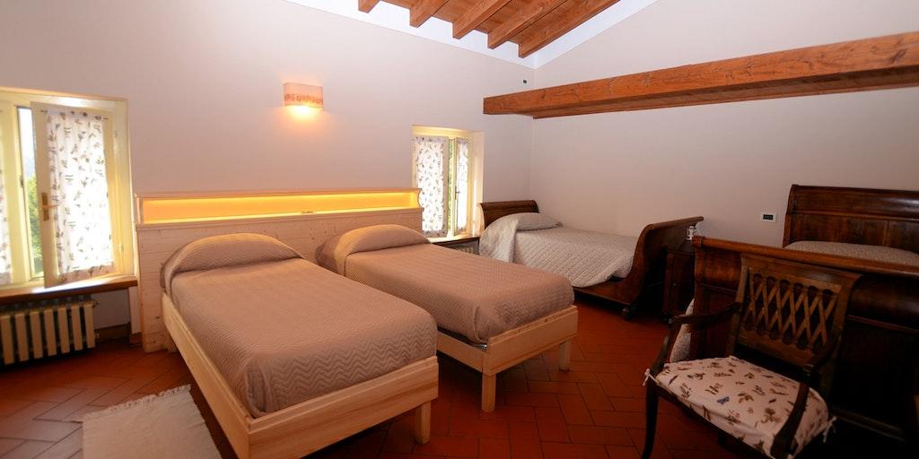 Et rom med plass til 4 personer