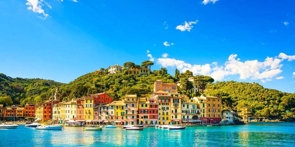 En udflugt i Ligurien kunne fx. gå til Portofino