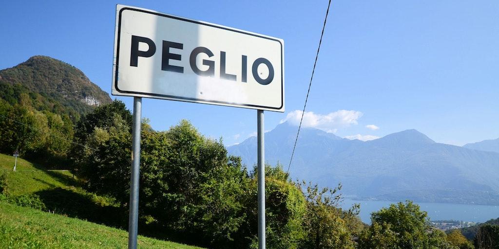 Sie sind in Peglio angekommen