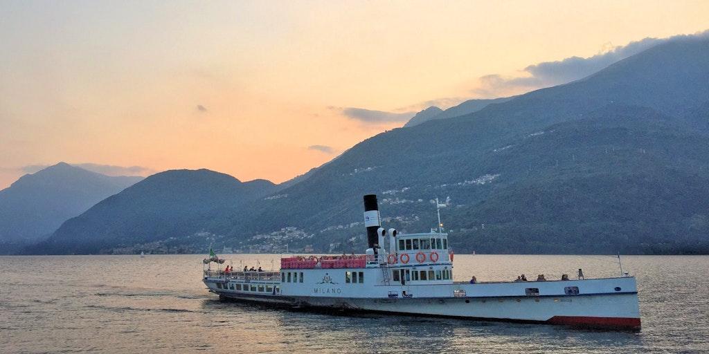 Comosøens færgefart