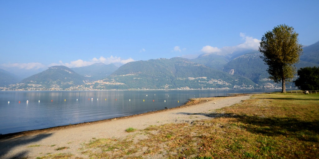 Stranden i Colico