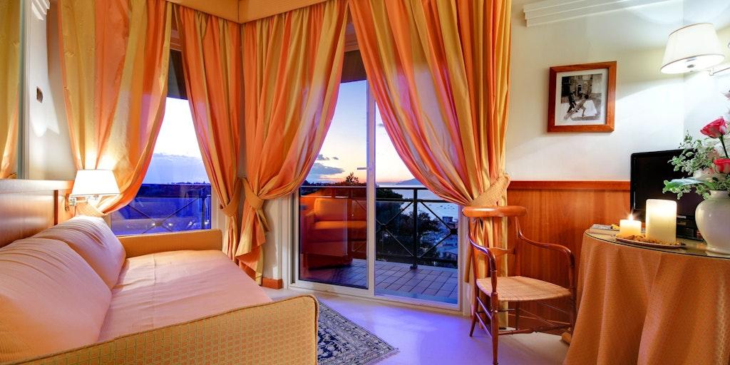 <p>Junior Suite mit zwei Balkonen</p>