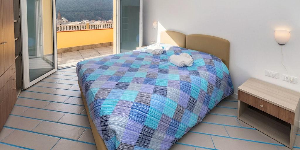 Sovrum i lägenhet nr. 13