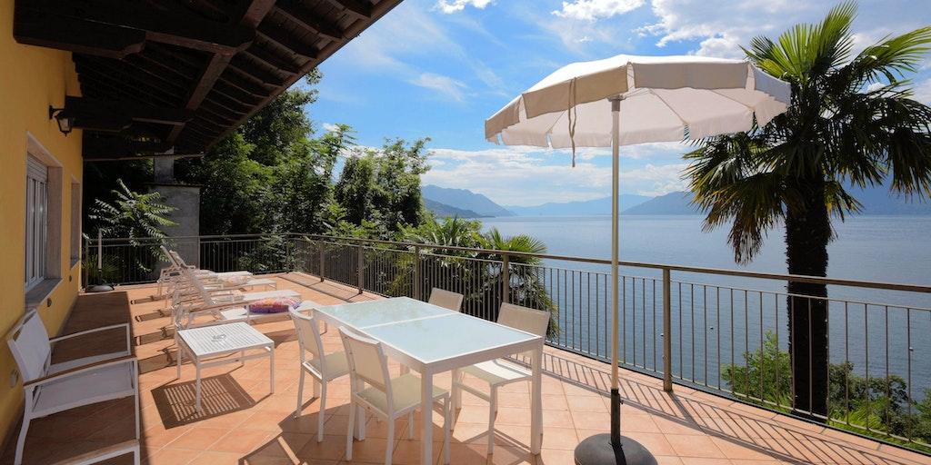 Lejligheden Villa Colmegna i Residenza Leonardo