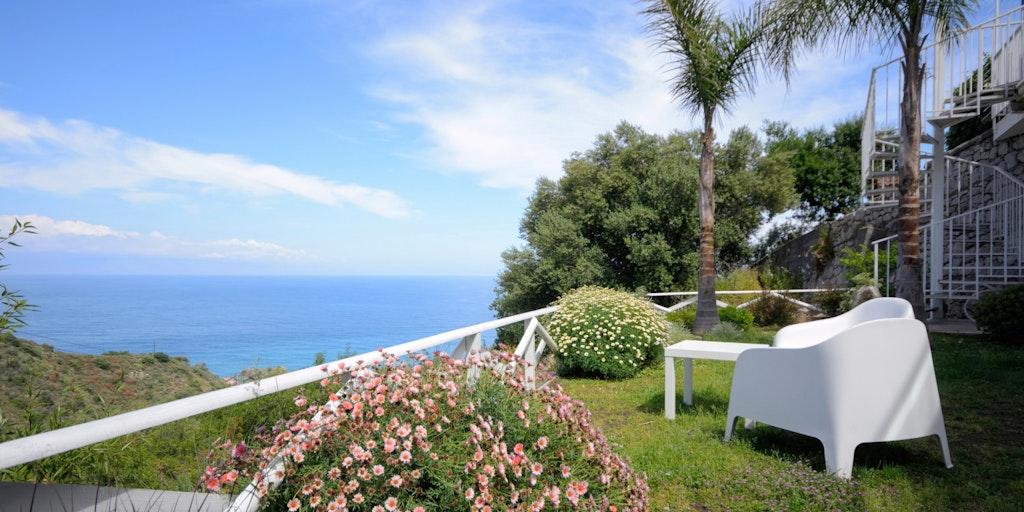 <p>Garten von der Wohnung Giardino</p>