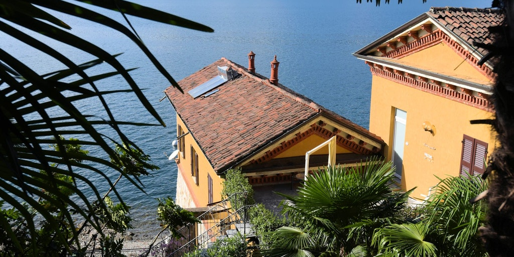Bygningen Casa Amatissima, hvor tre af lejlighederne ligger