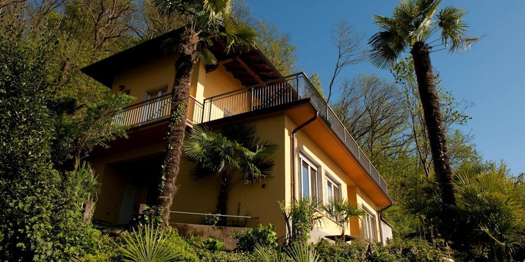 Bygningen Residenza Leonardo, hvor tre af lejlighederne ligger