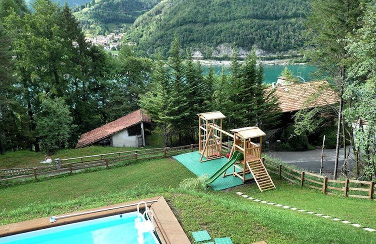 Villa alle Terrazze - Ferienwohnung , Ledrosee , Gardasee