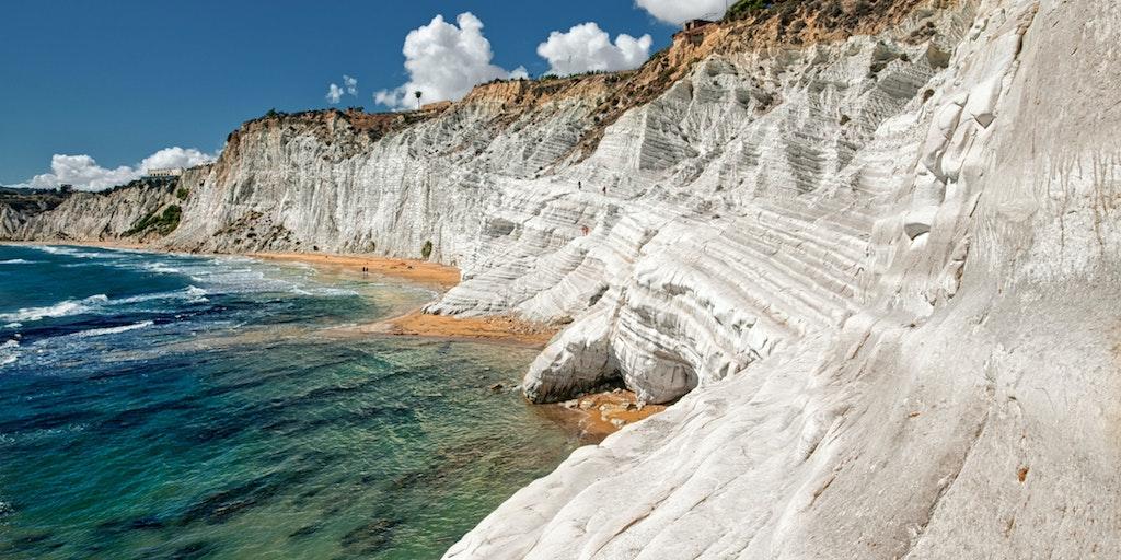 Les falaises de la <em>Sacala dei turchi</em>