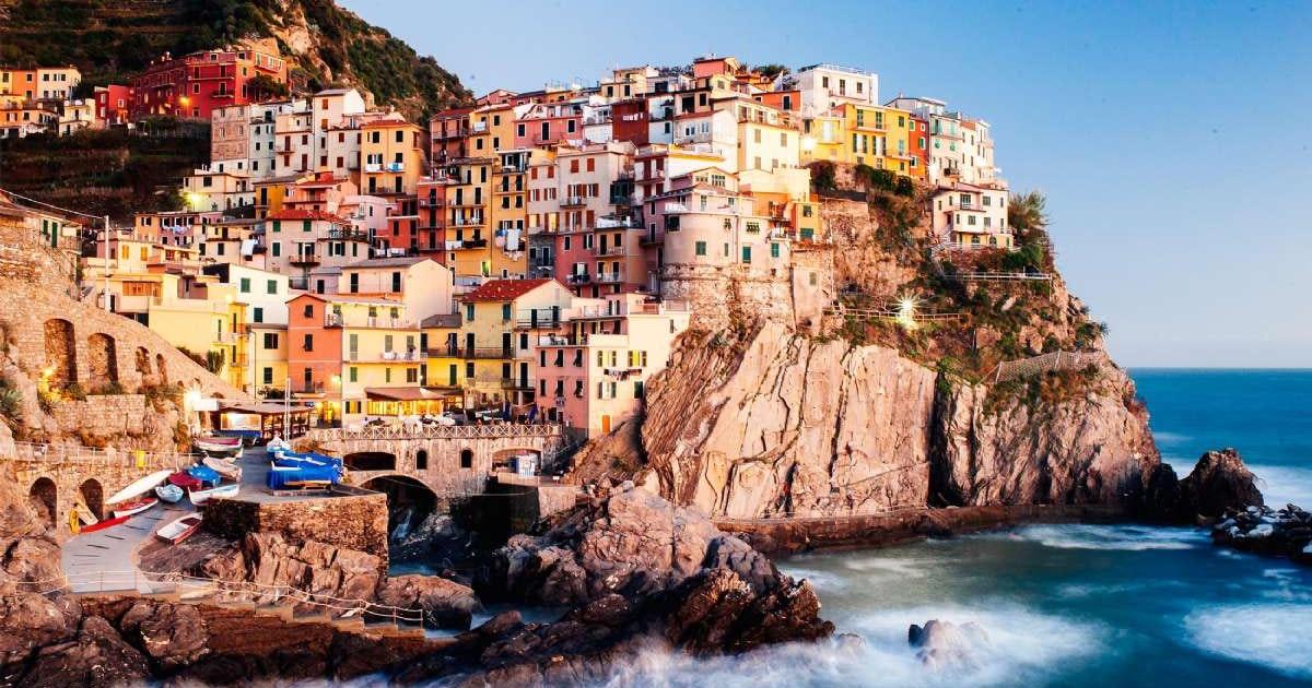 sinke terre italia kart Reiser til Cinque Terre   bestill din reise hos spesialisten med