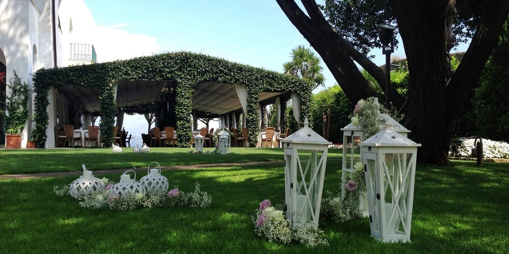Villa Eva tilhører hotellet og benyttes ofte til bryllup