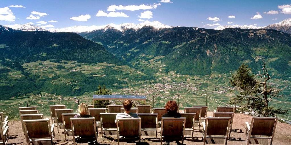 En resa till Sydtyrolen ger dig imponerande panoramavyer över hela linjen
