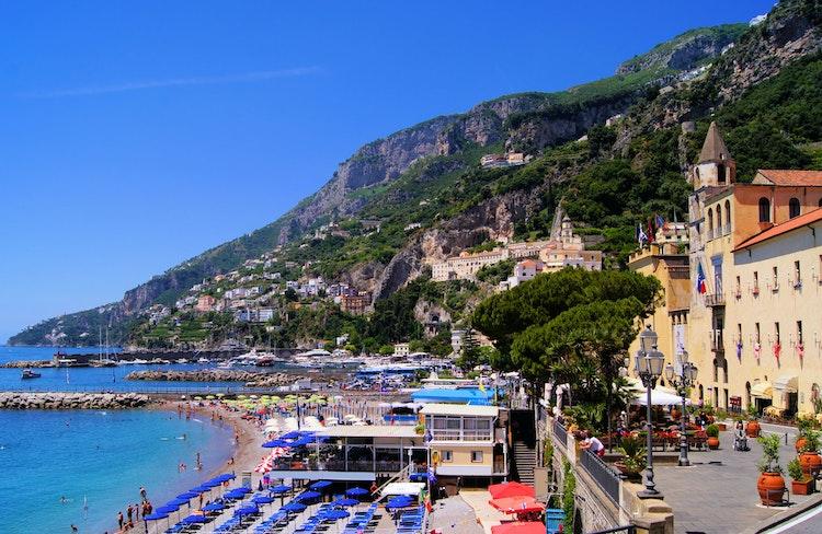 Amalfi Amalfikusten Semester Boka Hotell Semesterboende