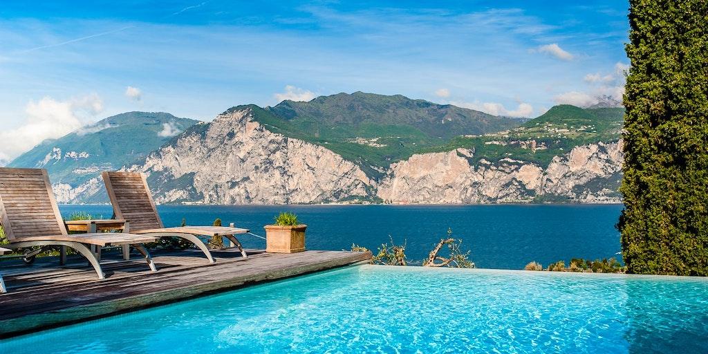 hotel bellevue san lorenzo hotel in malcesine by lake garda. Black Bedroom Furniture Sets. Home Design Ideas