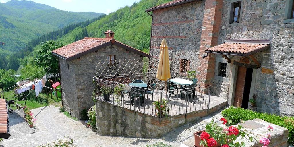 Tag på agriturismo i smukke Garfagnana i Toscana