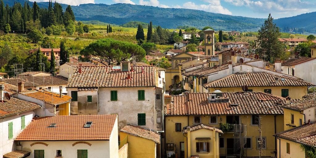 Greve in Chianti Toscana ferie | Book hotel / feriebolig her