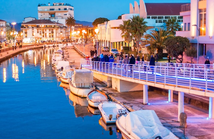 Viareggio Ferienhäuser, Ferienwohnungen und Hotels in der Toskana ...
