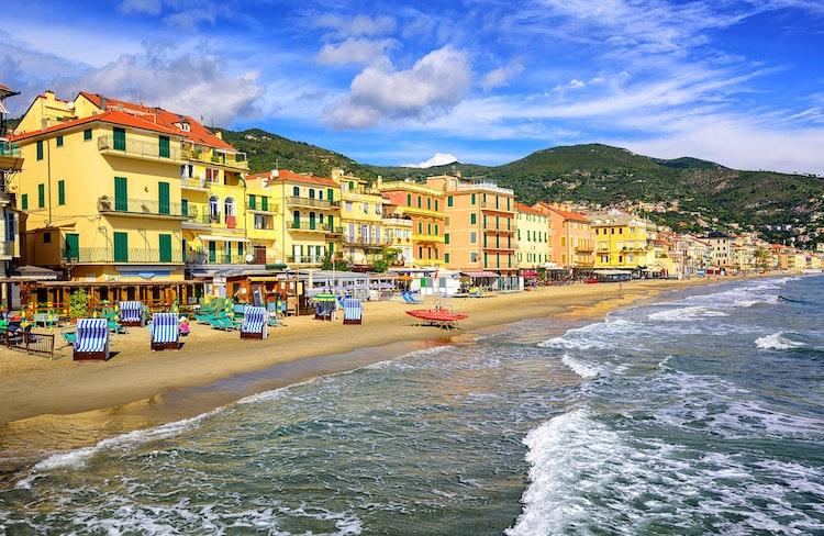 Alassio Ferienhauser Ferienwohnungen Und Hotels In Ligurien Italien