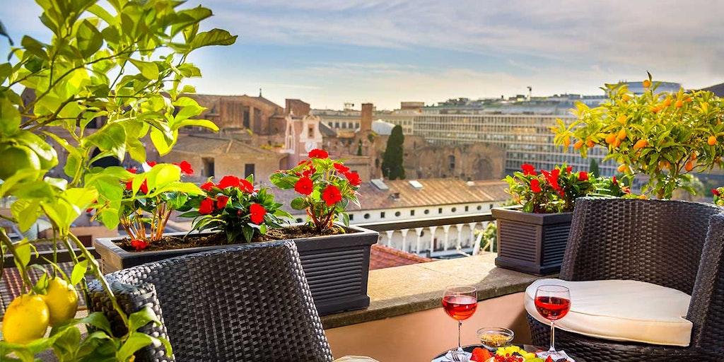 Njut av semestern på din privata terrass