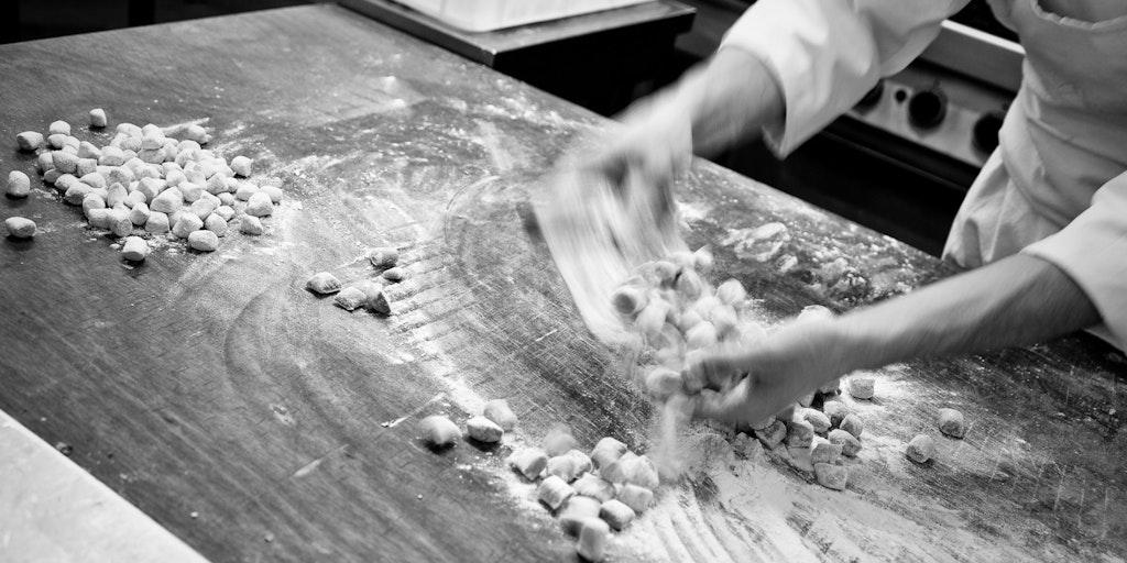 <p>Die ligurische Küche ist der Antrieb</p>