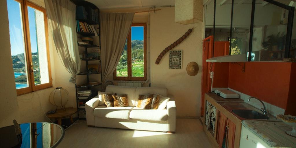 Familienzimmer mit Kochnische