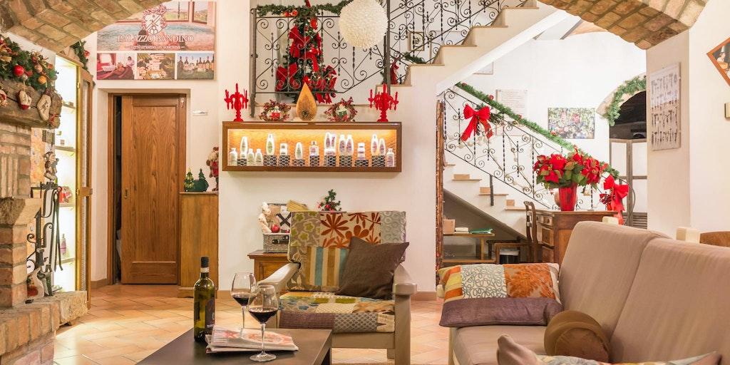 Weihnachstszeit im Palazzo Bandino