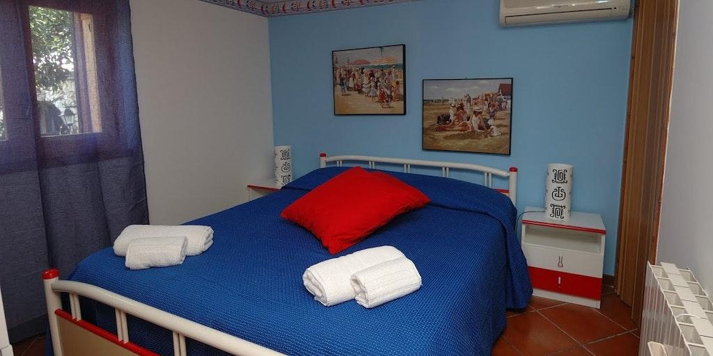 Soveværelse i lejligheden Edera