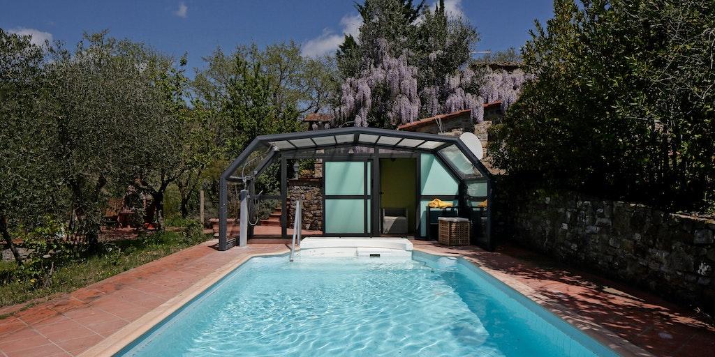 Eksempel på villa med privat pool