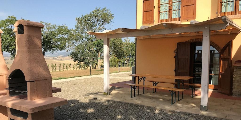 Terrasse de l'appartement Papavero