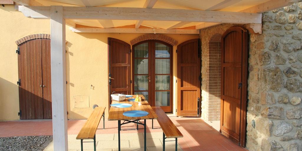 Terrasse de l'appartement Gelsomino